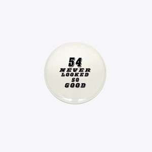 54 Birthday Designs Mini Button