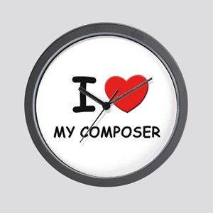 I love composers Wall Clock