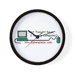 Cyberplebe Wall Clock