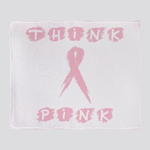 Think Pink 2000x2000 Throw Blanket