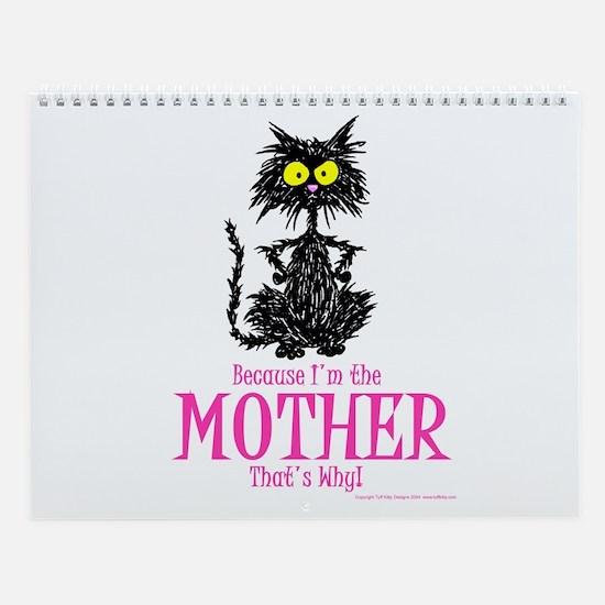 MOTHER'S DAY CAT Wall Calendar