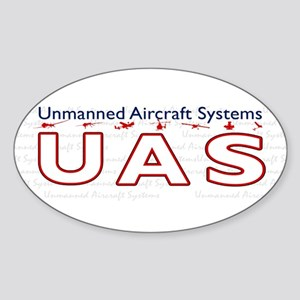UAS Rectangle Sticker