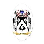 Capellaro Oval Car Magnet