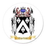 Capellaro Round Car Magnet