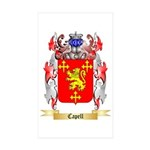 Capell Sticker (Rectangle 50 pk)