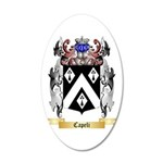 Capeli 20x12 Oval Wall Decal