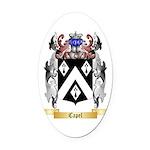 Capel Oval Car Magnet
