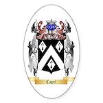 Capel Sticker (Oval 50 pk)