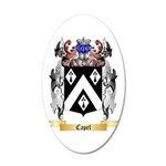 Capel 20x12 Oval Wall Decal