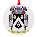 Cape Round Ornament