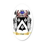 Cape Oval Car Magnet