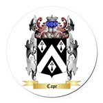 Cape Round Car Magnet