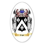 Cape Sticker (Oval 50 pk)