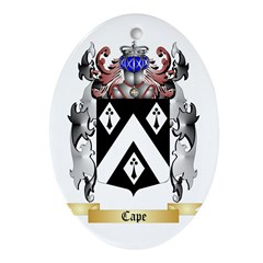 Cape Ornament (Oval)