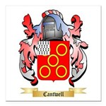 Cantwell Square Car Magnet 3