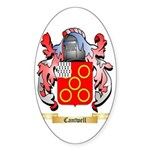 Cantwell Sticker (Oval 10 pk)