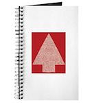 Arrow Tree Red Journal