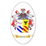 Cantu Sticker (Oval 50 pk)