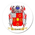 Cantrill Round Car Magnet
