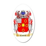 Cantrill 35x21 Oval Wall Decal
