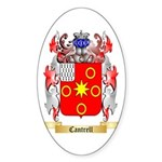 Cantrell Sticker (Oval 50 pk)