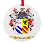 Cantos Round Ornament