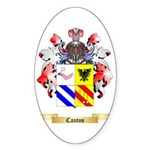 Cantos Sticker (Oval 10 pk)