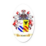 Canto Oval Car Magnet