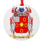 Cantle Round Ornament