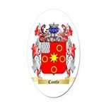 Cantle Oval Car Magnet