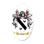 Cante Oval Car Magnet