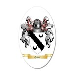 Cante 35x21 Oval Wall Decal