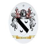 Cante Ornament (Oval)
