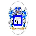 Canovas Sticker (Oval 10 pk)