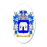 Canova 35x21 Oval Wall Decal