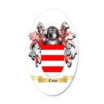 Cano Oval Car Magnet
