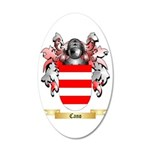 Cano 35x21 Oval Wall Decal