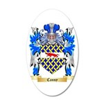 Canny 20x12 Oval Wall Decal