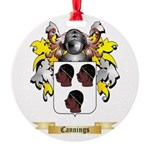 Cannings Round Ornament
