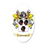 Cannings Oval Car Magnet