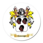 Cannings Round Car Magnet
