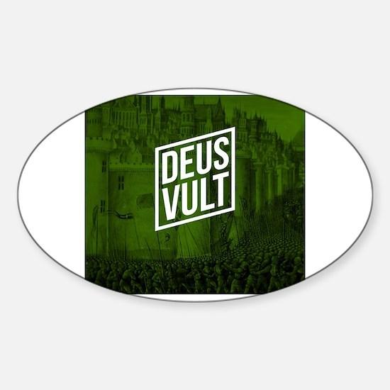 Unique Deus Sticker (Oval)