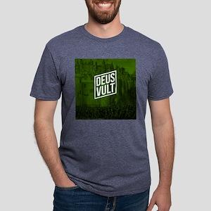 ANTCH - DEUS VULT Mens Tri-blend T-Shirt