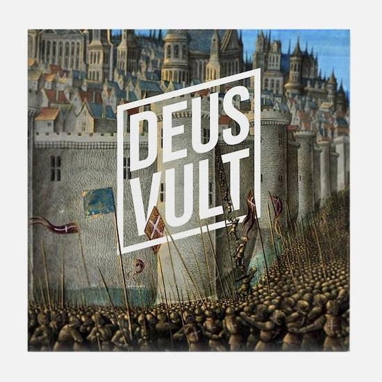 Deus Tile Coaster