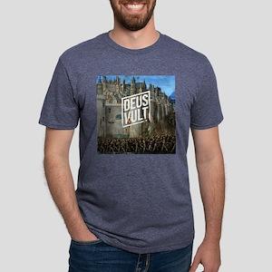 DEUS VULT - ANTCH Mens Tri-blend T-Shirt
