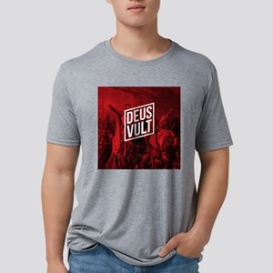 CLERMONT - DEUS VULT Mens Tri-blend T-Shirt