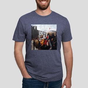 DEUS VULT - EDESSA Mens Tri-blend T-Shirt