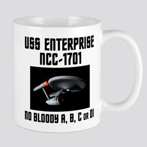 No Bloody ABCorD Mug