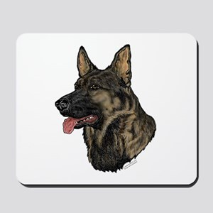 Sable German Shepherd Mousepad