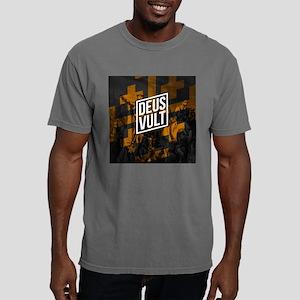 HRSLM - DEUS VULT knight Mens Comfort Colors Shirt